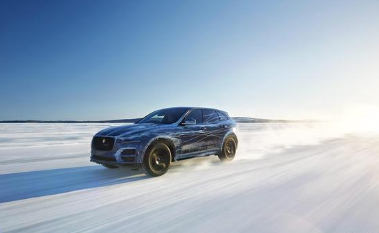 """捷豹(Jaguar):是英国的一家豪华汽车生产商,车标为一只正在跳跃前扑的""""美洲豹""""形象,矫健勇猛,形神兼备,具有时代感与视觉冲击力,它既代表了公司的名称,又表现出向前奔驰的力量与速度,象征该车如美洲豹一样驰骋于世界各地。世界奢华汽车品牌捷豹自诞生之初就深受英国皇室的推崇,从伊丽莎白女王到查尔斯王子等皇室贵族无不对捷豹青睐有加,捷豹更是威廉王子大婚的御用座驾,尽显皇家风范。日前,官方发布了捷豹SUV——F-Pace位于瑞典北部Arjeplog(阿尔耶普卢格)"""