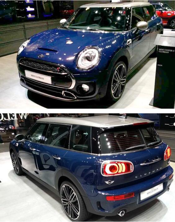 今日最新优惠依旧呆萌可爱,宝马新mini clubman车型法兰克福车展正式